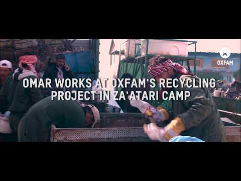 Omar, solid waste management and recycling of waste project