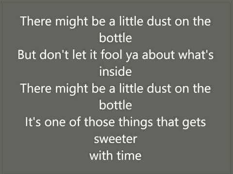 Dust On The Bottle, David Lee Murphy Lyrics
