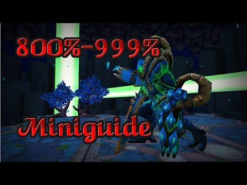 Telos (800%-999% Miniguide) [7-8 kills/hour]