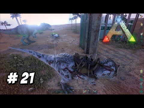 EL PODEROSO INDOMINUS REX!! // ARK mod serie Survival #21 - juego dinosaurios en Español HD