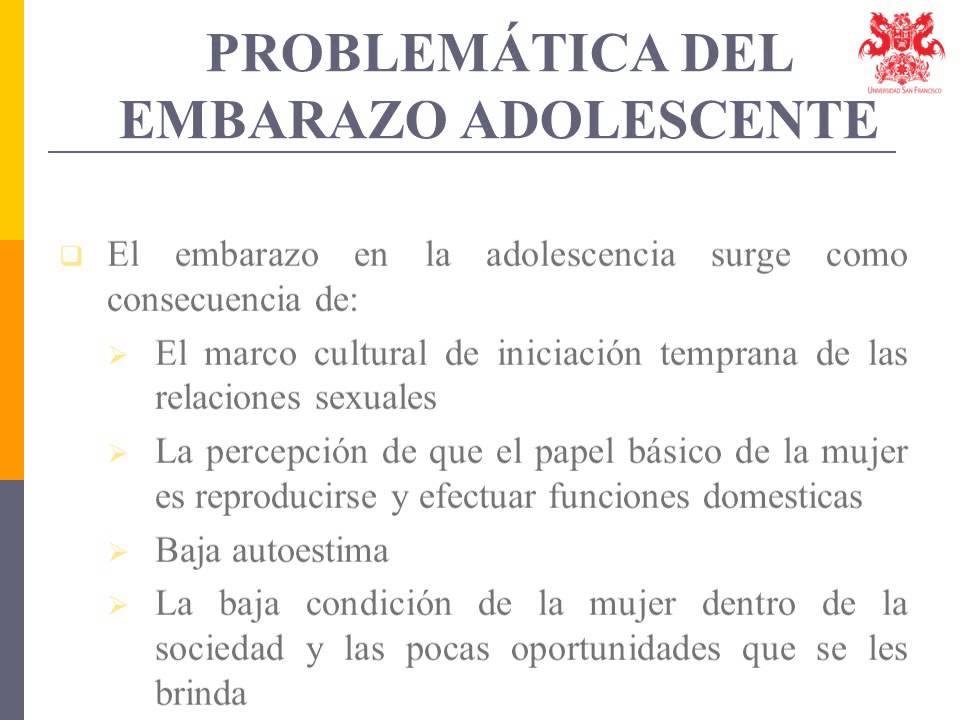 EMBARAZO ADOLESCENTE EN EL ECUADOR proyecto PPT - YouTube