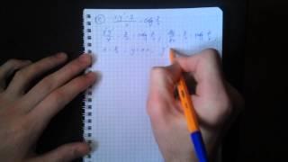 Дифференциальные уравнения 1-го порядка.