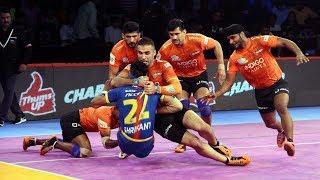 Pro Kabaddi 2018 Highlights   U Mumba vs UP Yoddha   Hindi