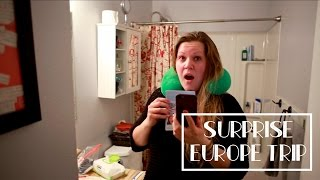 Surprise Europe Trip For My Wife