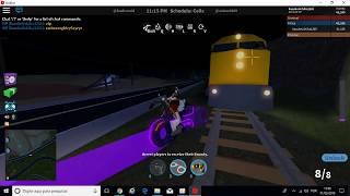 Volare con la bici Tron Roblox Jailbreak