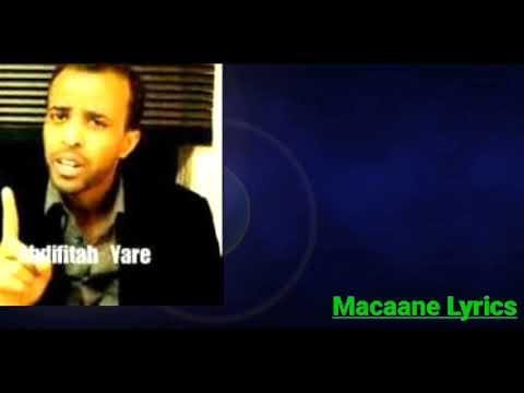 Download Jaceylki Miyuu ku Helay | Abdifatah Tacabir | Macaane Lyrics