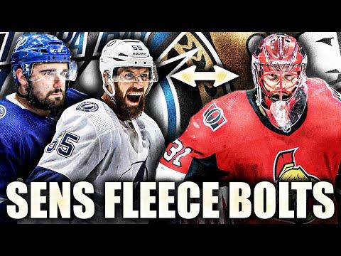 SENATORS FLEECE LIGHTNING IN TRADE (But Tampa Had To Do It) Ottawa NHL Trade News 2021—Sens / Bolts