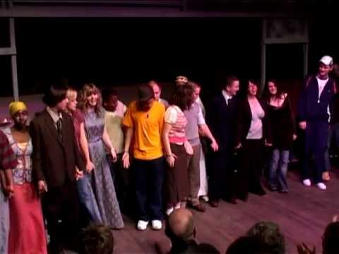 Audience reaction to the Belgrade Community & Education Company's production Hussan and Harry