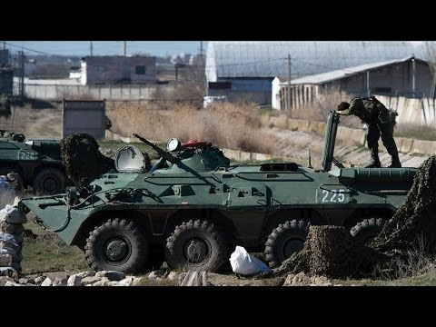 Russian Troops Seize Another Crimean Marine Base