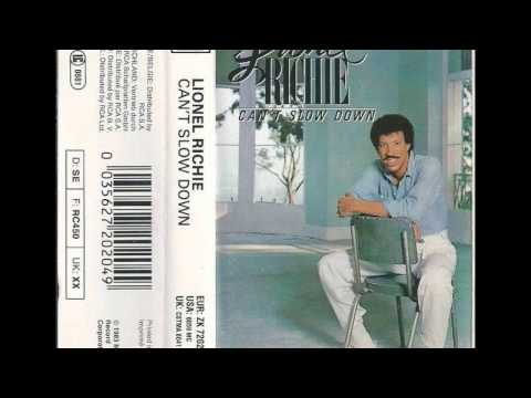 Lionel Richie - Can't Slow Dowm – 1983 – Cassette