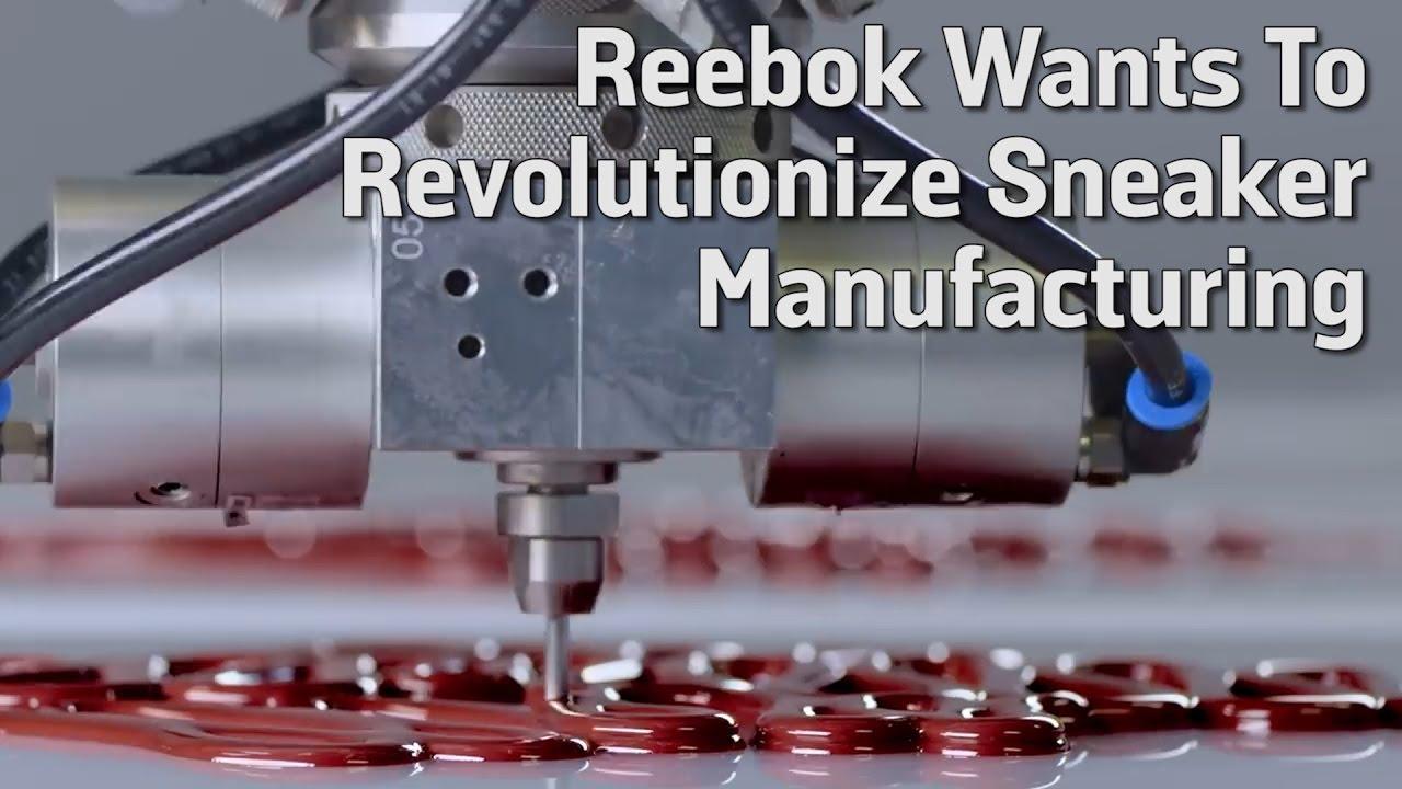 e7e6afce8fd1 Reebok Wants To Revolutionize Sneaker Manufacturing - YouTube
