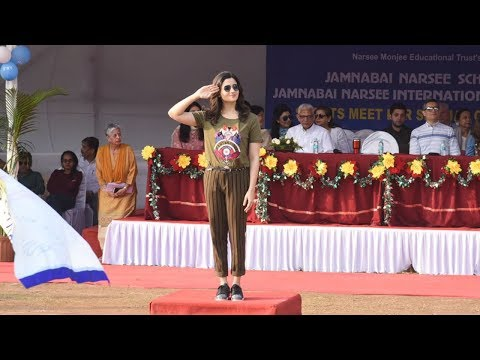 Alia Bhatt Visits Her School Jamnabai Narsee School For Sports Day Function