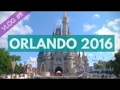 ORLANDO 2016 - VLOG #11 - Disney World - Magic Kingdom