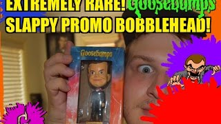 extremely rare goosebumps movie slappy promo bobblehead