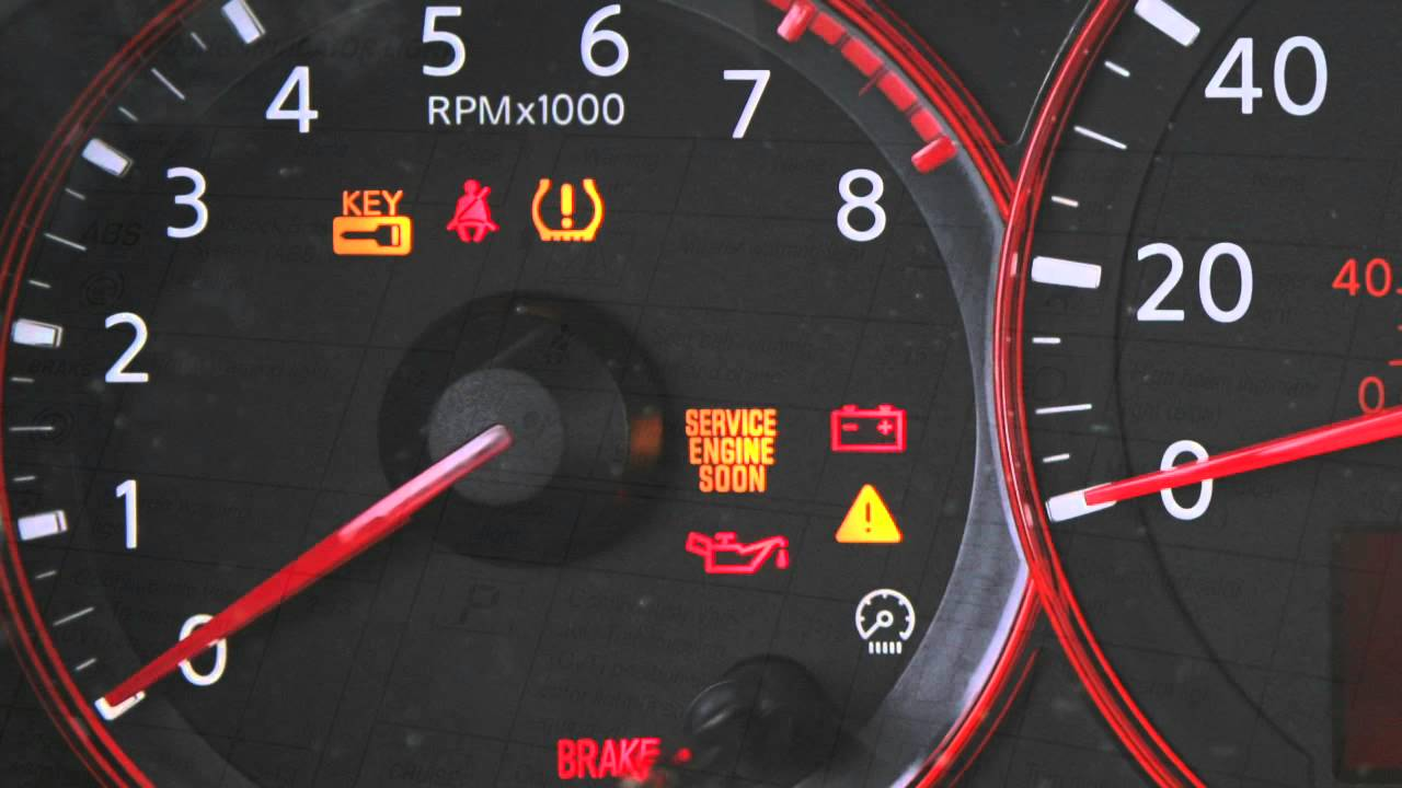 2012 nissan altima warning and indicator lights nissan owner channel [ 1280 x 720 Pixel ]