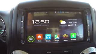 """Pure Android 4.4 6.95"""" Car Stereo - from Klyde sold by Pumpkin Auto"""