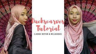 Tutorial Duckscarves Vivy Style (Versi Labuh Depan & Belakang)   Simply Safwanah (#1)