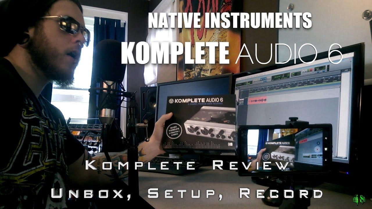 Komplete audio 6 update