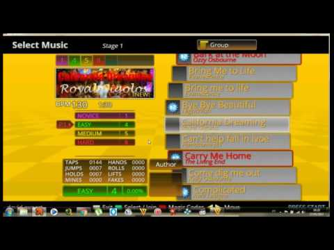 Stepmania 3. 9 with songs (download folder in description) youtube.