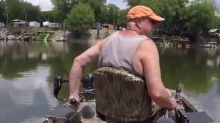 Xpress Duck Boat 40 4 stroke jet