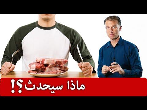 ماذا يحدث عند الاكثار من البروتين مثل اللحم والدجاح والسمك والجبن