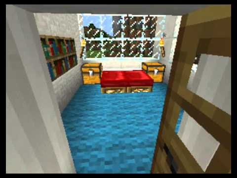 Top 5 casas modernas de minecraft pe youtube for Casa moderna en minecraft pe