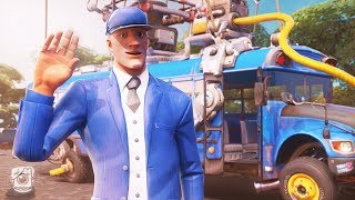 WHO DRIVES THE BATTLE BUS? (A Fortnite Short Film)