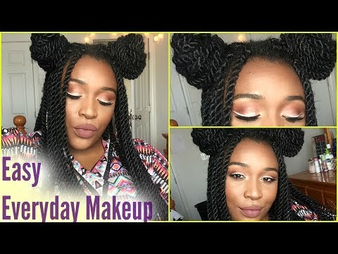 Easy Everyday Makeup Routine | Ghetto Space Princess Edition 😜 | Soldier4Beauty