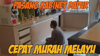 PASANG KABINET DAPUR MURAH GERIK