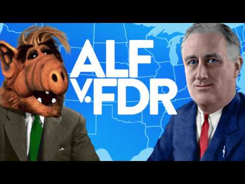 Alf V. FDR: Worst Landslides in US History | Politics 101 | Laughing Historically