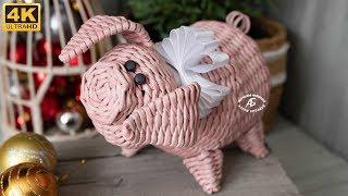 Свинка-копилка.