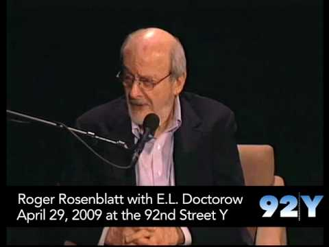 Afternoon Night Table: Roger Rosenblatt with E.L. Doctorow