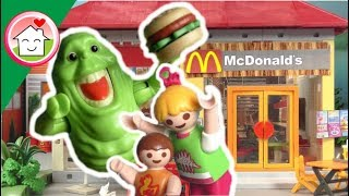 Playmobil Novelinha Português Caça Fantasmas da PLAYMOBIL no McDonalds - A Família Hauser