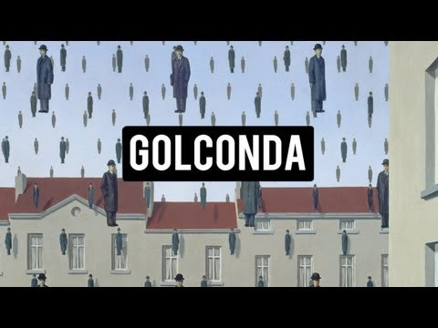 GOLCONDA - RENE' MAGRITTE