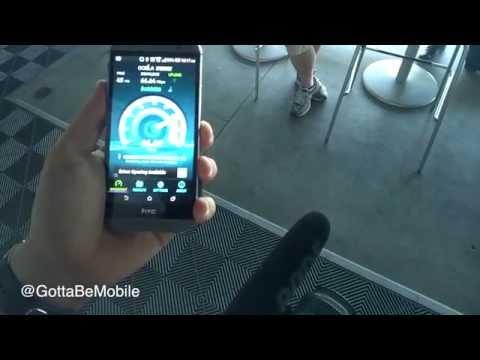 Verizon XLTE Speedtest vs AT&T 4G LTE
