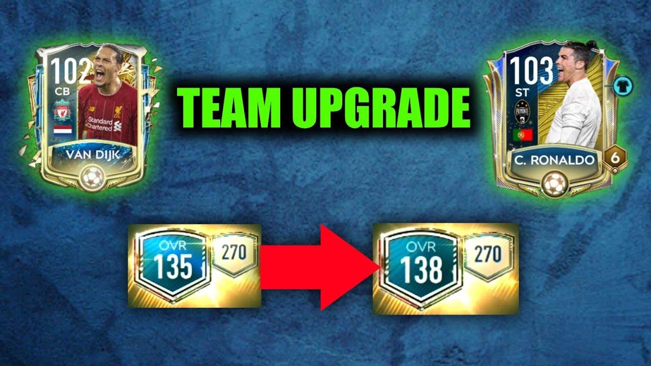 HUGE TEAM UPGRADE | Fifa mobile 20