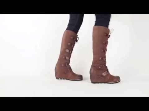2c75cc0e15d Sorel Joan Of Arctic Wedge - YouTube