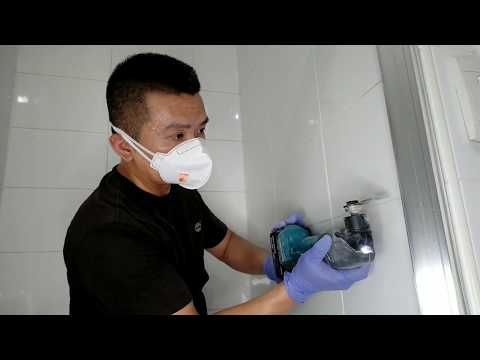 Shower Makeover - Re-grouting with Epoxy grout