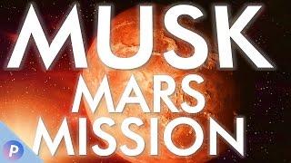 Elon Musk spricht über Mars Kolonie Pläne