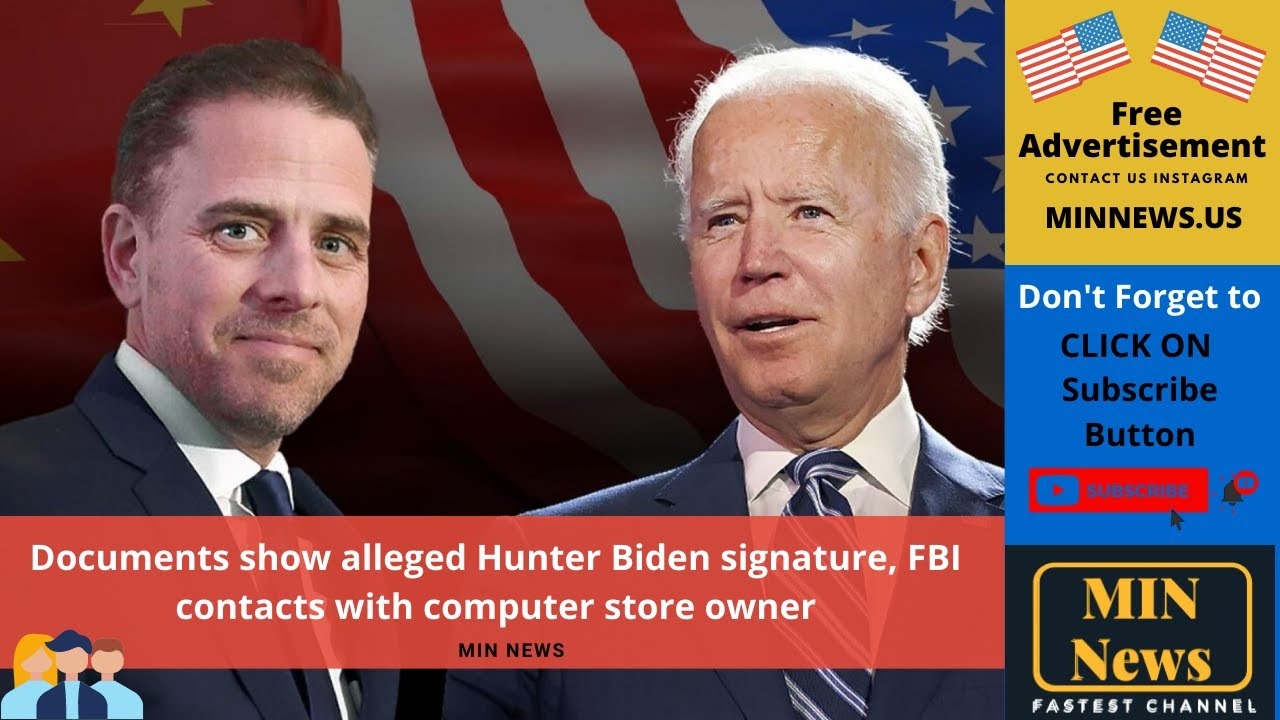 Documents show alleged Hunter Biden signature, FBI contacts with ...