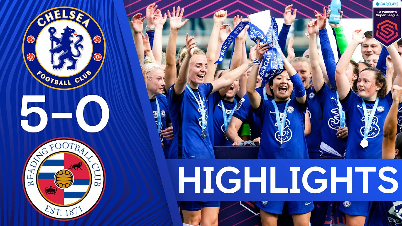 Download Chelsea 5-0 Reading | Chelsea Crowned WSL Champions By Hitting 5 Past Reading | Women's Super League