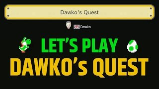 Super Mario Maker - Let's Play Dawko's Level!