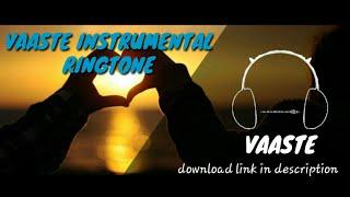 Vaaste instrumental ringtone
