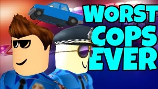 WORST COPS in ROBLOX (feat. TheGameSpace, LGG Alden, and Dragonmace