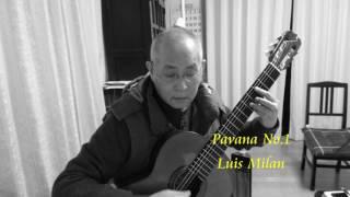 Pavana No 1 Luis de Milan  ルイス ミラン パバーナ No.1