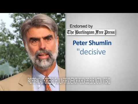 Burlington Free Press endorses Peter Shumlin
