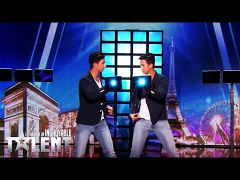 French Twins - France's Got Talent 2016 - Week 2