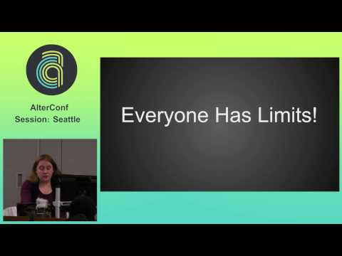 AlterConf Seattle 2015 - Updated Spoon Theory for the Tech Industry by: Whitney Levis