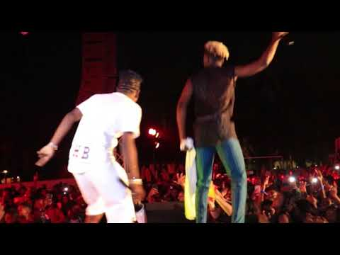 Shatta Wale - Fire Burn The Haters With Mr Eazi At The Detty Rave