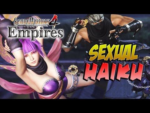 HAIKU SEXUAL NINJA POEMS! Samurai Warriors 4 Empires (#16)